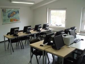 Prüfungsfraum für Fahrschulen beim Tüv in Nordhorn