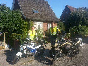 Bike to bike mit Thorben in Nordhorn